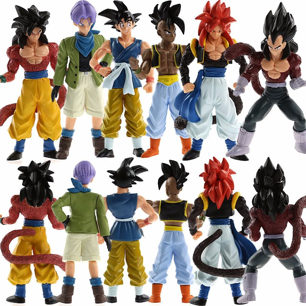 Dragon ball z gt gogeta goku vegeta super sayajim 4 trunks for Chambre dragon ball z