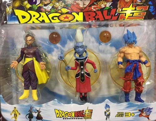 dragon ball z kai gt set 3 figuras esferas envio gratis