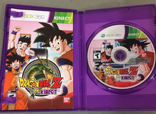 dragon ball z kinect xbox 360