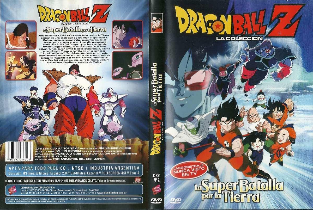 Dragon Ball Z La Coleccion La Super Batalla Por La Tierra Dv - $ 80,00