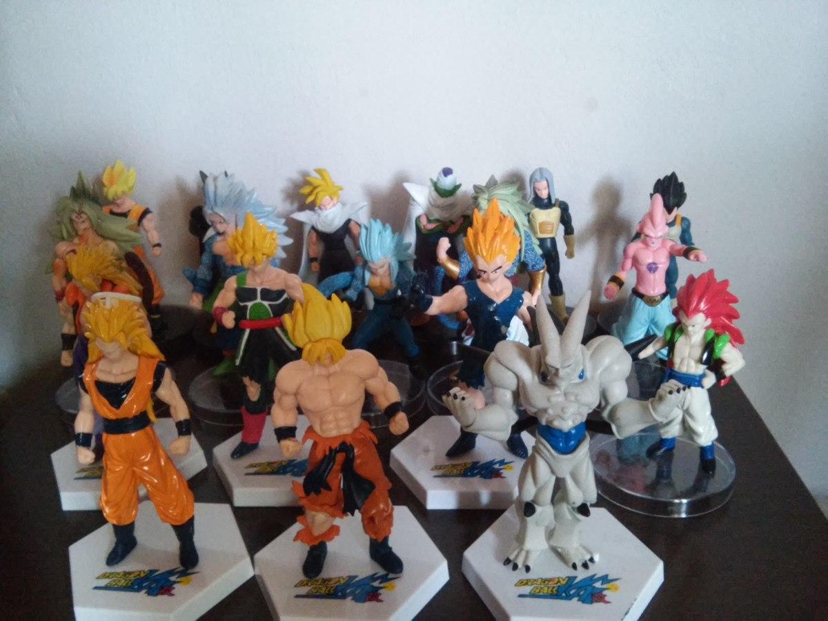 Dragon Ball Z. Seis Figuras Coleccionables -   350 ed34a25a848