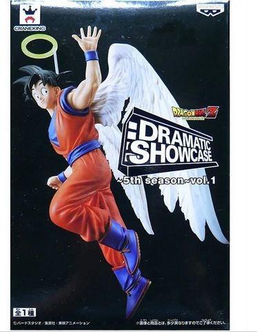 dragon ball z son goku com asa de anjo - banpresto