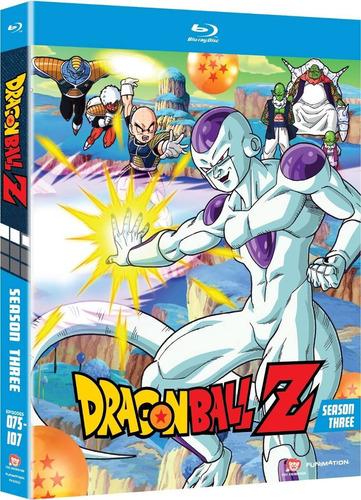 dragon ball z temporada 3 tres importada anime en blu-ray