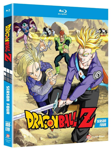 dragon ball z temporada 4 cuatro importada anime blu-ray