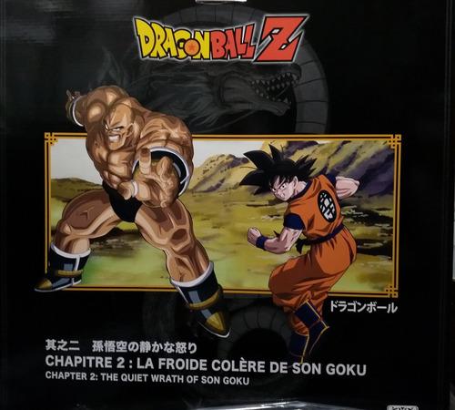 Dragon Ball Z The Quiet Wrath Of Son Goku Tsume Art Hqs