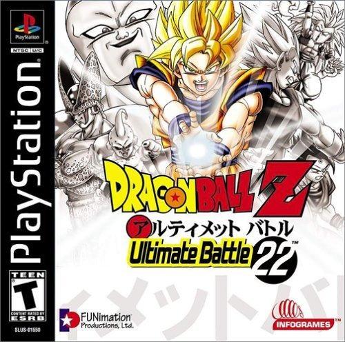 dragon ball z ultimate battle 22 playstation
