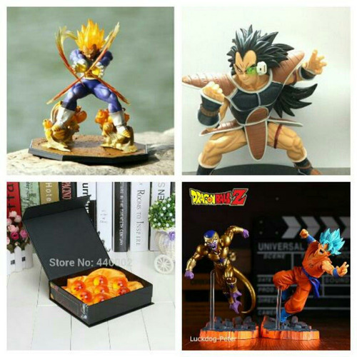 dragon ball z varias figuras
