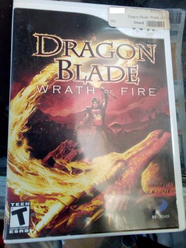 dragon blade time / /juego nintendo wii & wii u