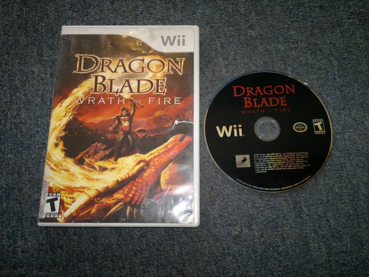 dragon blade wrath of fire sin instructivo para nintendo wii