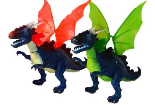 dragón dinosaurios dino rex juguete luces sonido figura