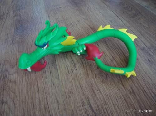 dragon dojo  xiaolin showdown figura de lujo