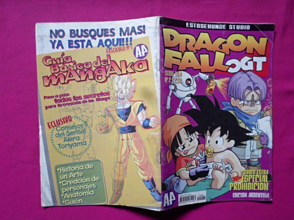 Dragon Fall Ogt N° 2 Serie Lila - $ 55,00 en Mercado Libre