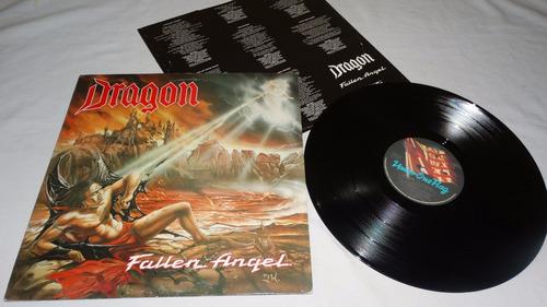 dragon - fallen angel '90 ( necrophobic thrash) (vinilo:vg -