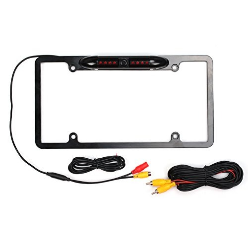 Dragon-hub Waterproof Backup Camera Car License Plate Frame ...
