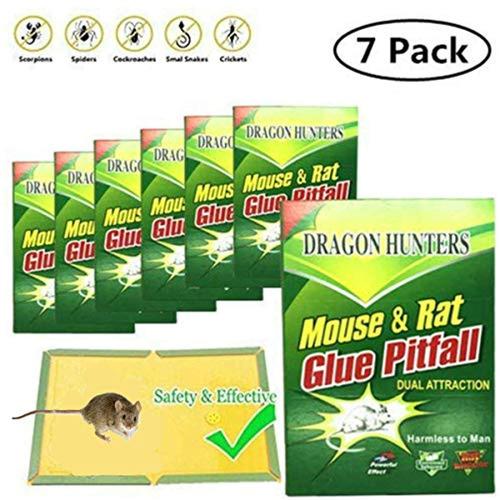dragon hunters  pack of 7  trampa de pegamento