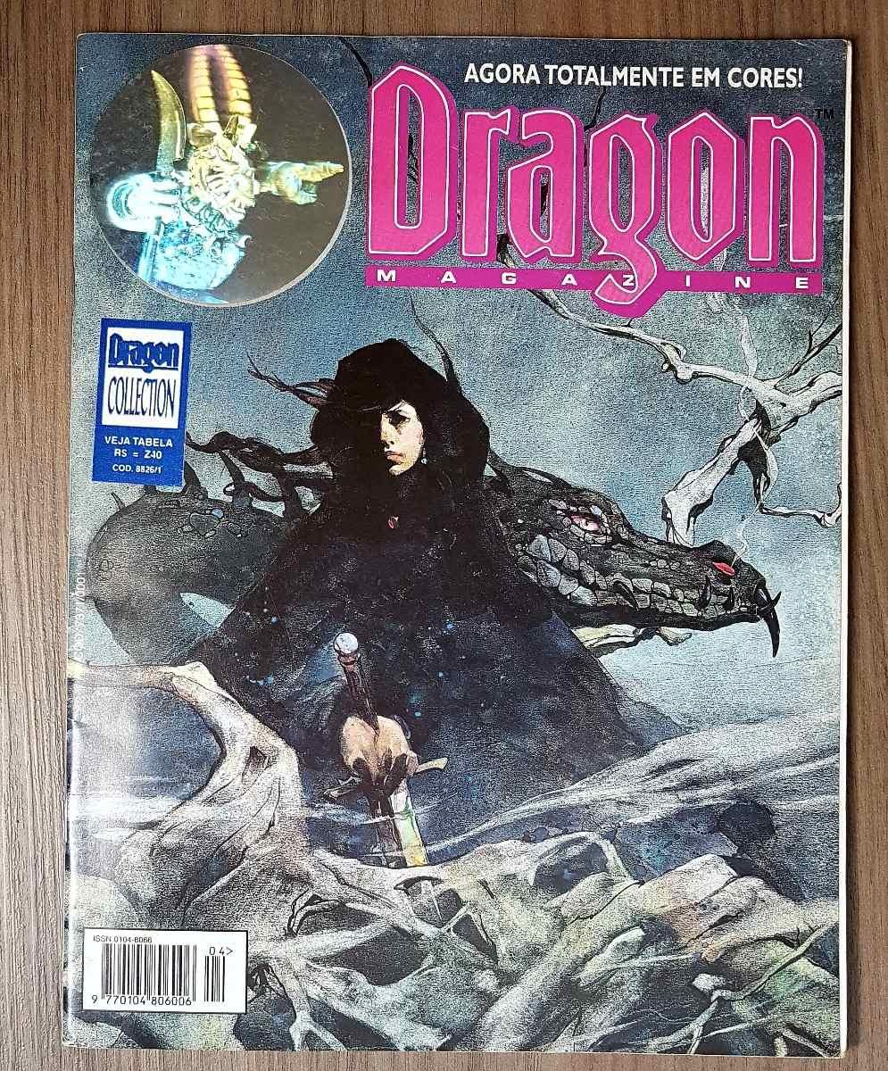 Dragon Magazine Nº 4 Com Poster -- Rpg