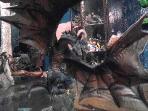 dragón mcfarlane serie 4 toys chimuelo medieval