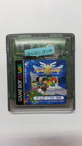 dragon quest iii game boy color japones
