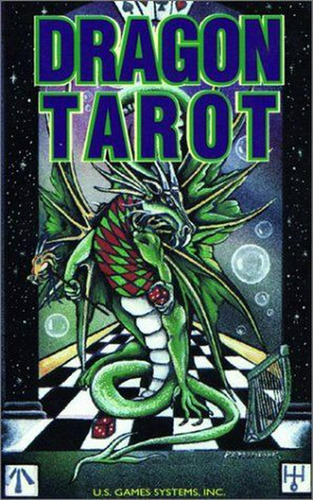dragon tarot deck  en ingles