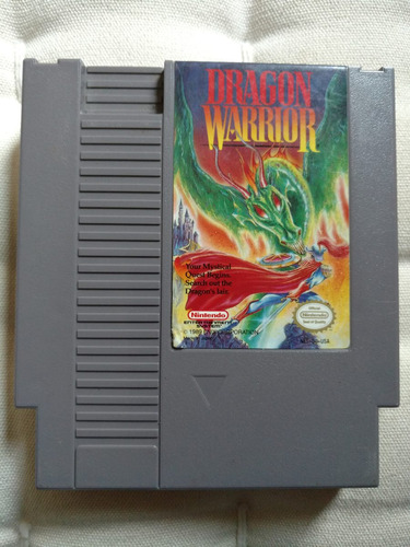 dragon warrior / dragon quest americano nes original