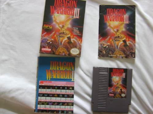 dragon warrior iii original americana e completa.confira!!