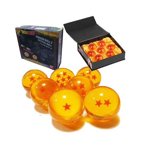 dragonball 7 esferas del dragón + estuche nuevo gratis!!