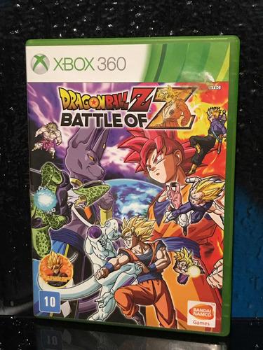 dragonball z battle of z xbox360 original mídia física