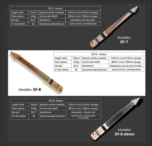 dragonfly df-6 - instrumento de tapping - tipo stick