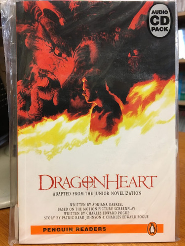dragonheart - penguin readers level 2 with cd - rincon 9