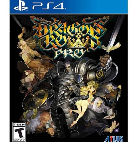 dragons crown pro battle hardened edtion ps4 disco, nuevo