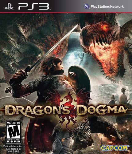 dragons dogma ps3 (en cd)