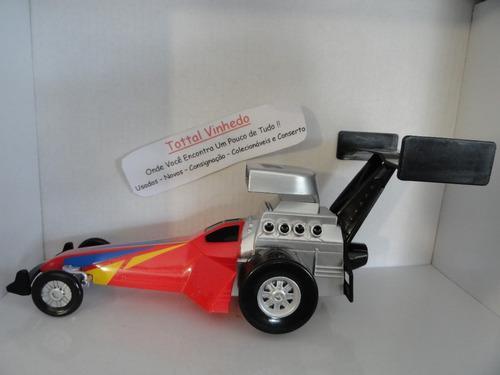 dragster miniatura linda peça grande única no ml