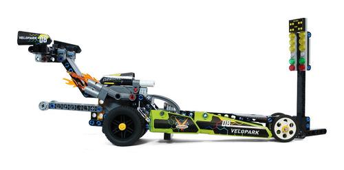 dragster para montar velopark