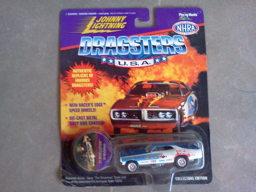dragsters usa nhra johnny lightning collectors ed trabucle