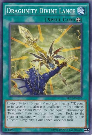 dragunity divine lance - sece-en062 - common unlimited