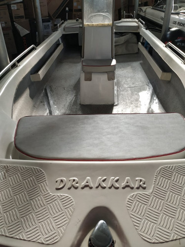 drakkar 480 + mercury 15hp