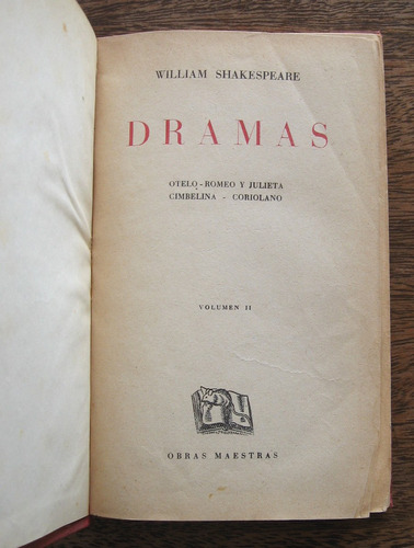 dramas, william shakespeare, ed. iberia