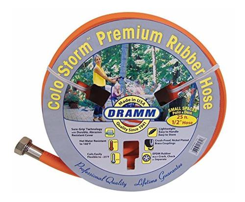 dramm 17032 colorstorm premium rubber garden