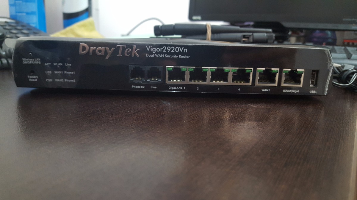 DRAYTEK VIGOR2920VN ROUTER WINDOWS XP DRIVER