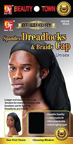 dreadlocks lujo spandex lujo la ciudad gorra trenzas negro