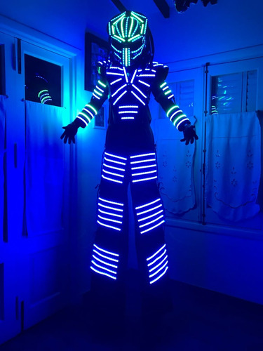 dreadtron show de robot led
