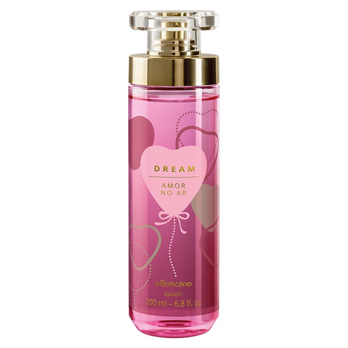 dream body splash desodorante amor no ar, 200ml