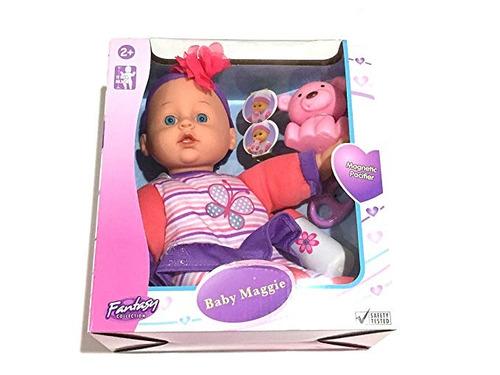 dream collection baby maggie 12 inch cuerpo blando muñeca +