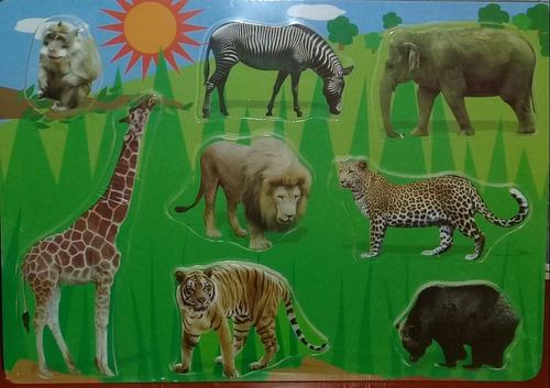 dream puzzle animales selva m192 30x21cm encastre edu