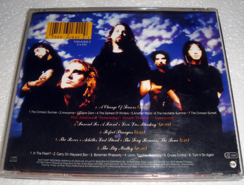 dream theater a change of seasons cd aleman / kktus