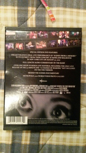 dream theater dvd metropolis 2000 scenes from ny