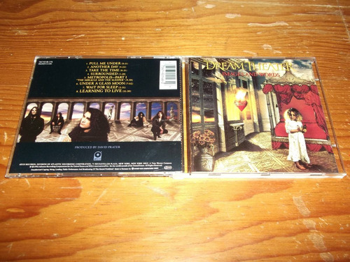 dream theater - images & words cd importado ed 1992 mdisk