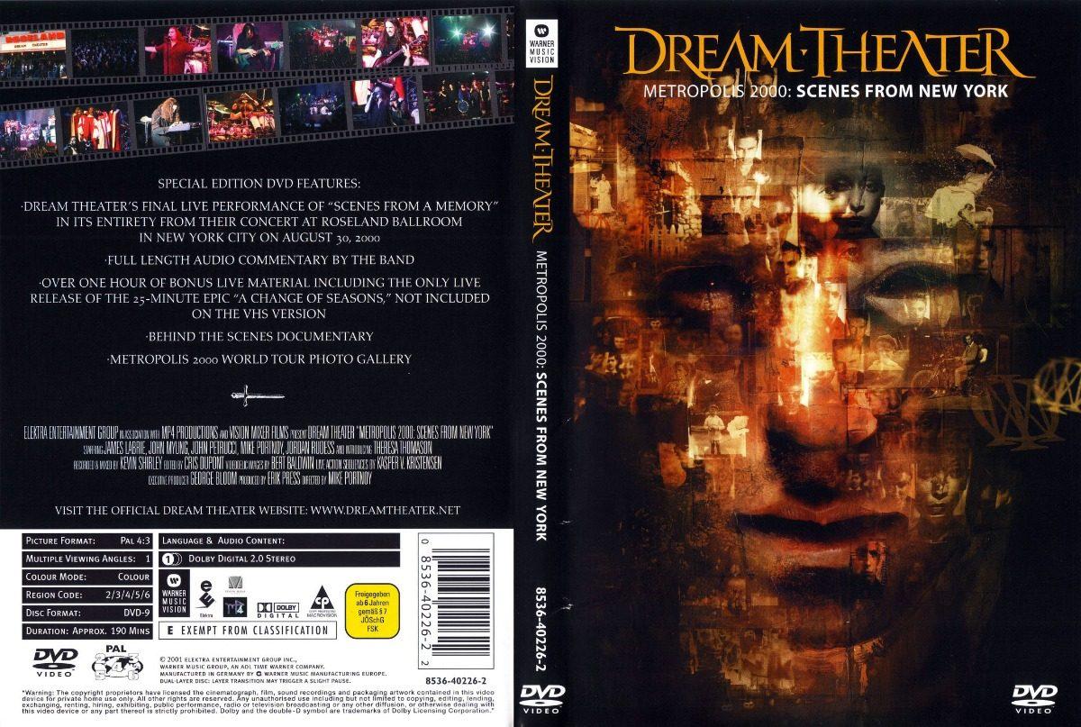 Resultado de imagen para Dream Theater Metropolis dvd