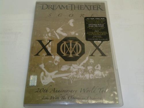 dream theater score 20th anniversary world tour (dvd)