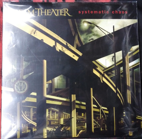dream theater - systematic chaos, vinilo doble.